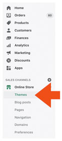 Shopify-Themes-Navigation-Link