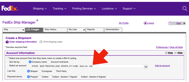 fedex-freight-shipper-number