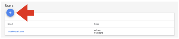 Add User Google Merchant Center