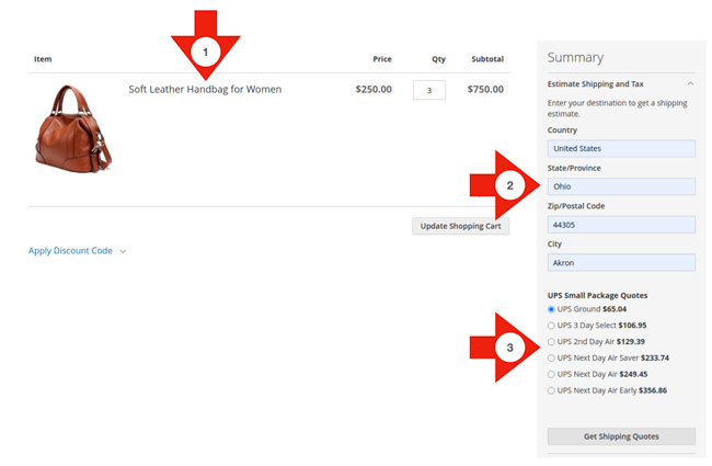 magento-cart-page-screen-capture